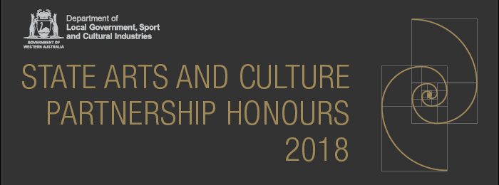 2018 State Arts and Culture Partnership Honours 2018 logo