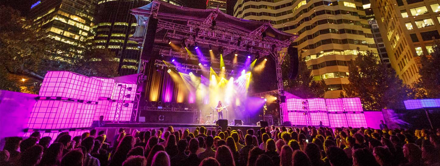 Kurt Vile, Perth Festival 2017. Photo by Jessica Wyld.