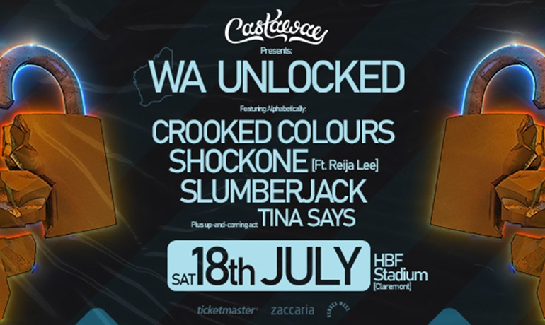 WA Unlocked Perth at HBF Stadium 18 July 2020