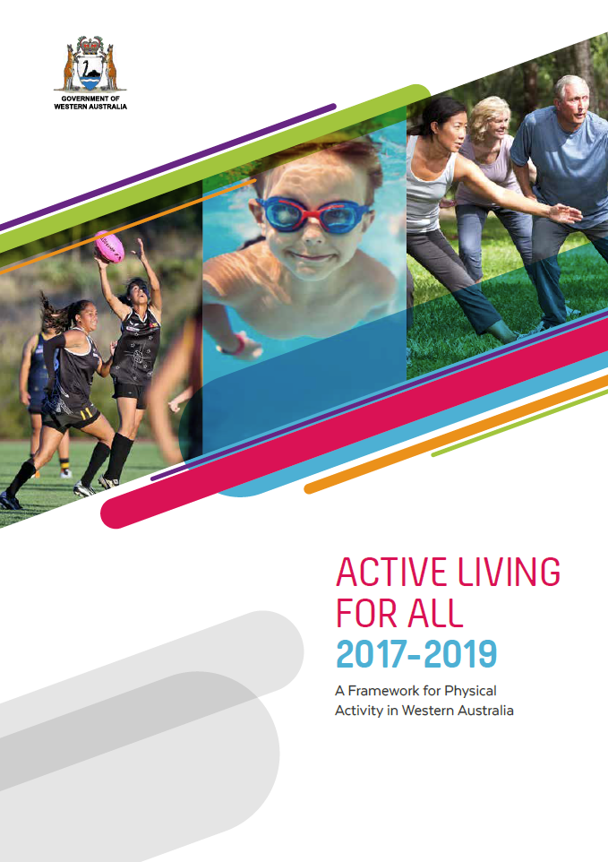 Active Living for All 2017-2019 cover