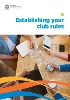 Establishing your club rules cover