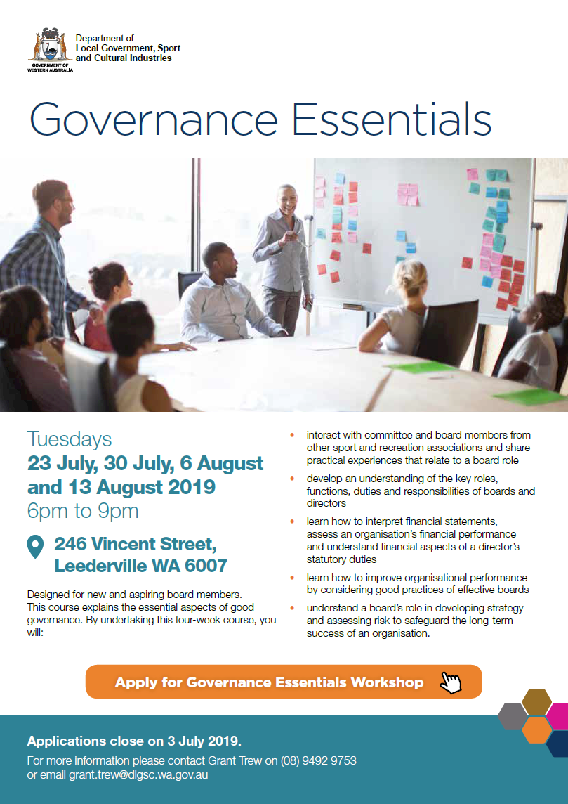 Governance Essentials flyer