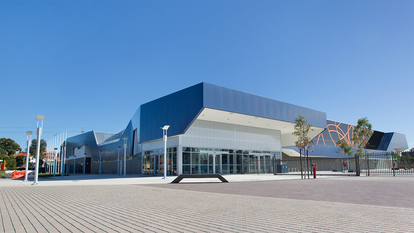 State Netball Centre exterior