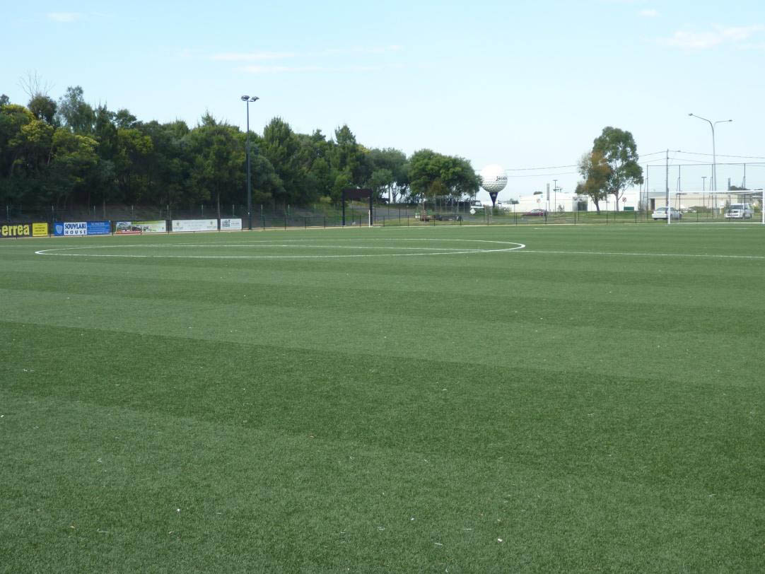 Synthetic Soccer Pitch at Cheltenham, Victoria