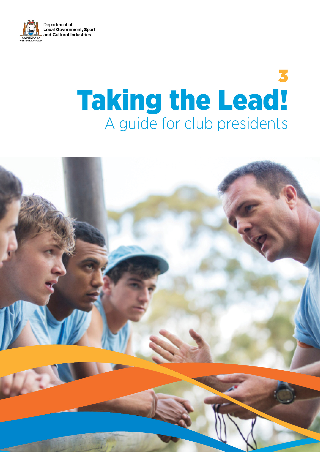 Taking the lead!  A guide for club presidents cover