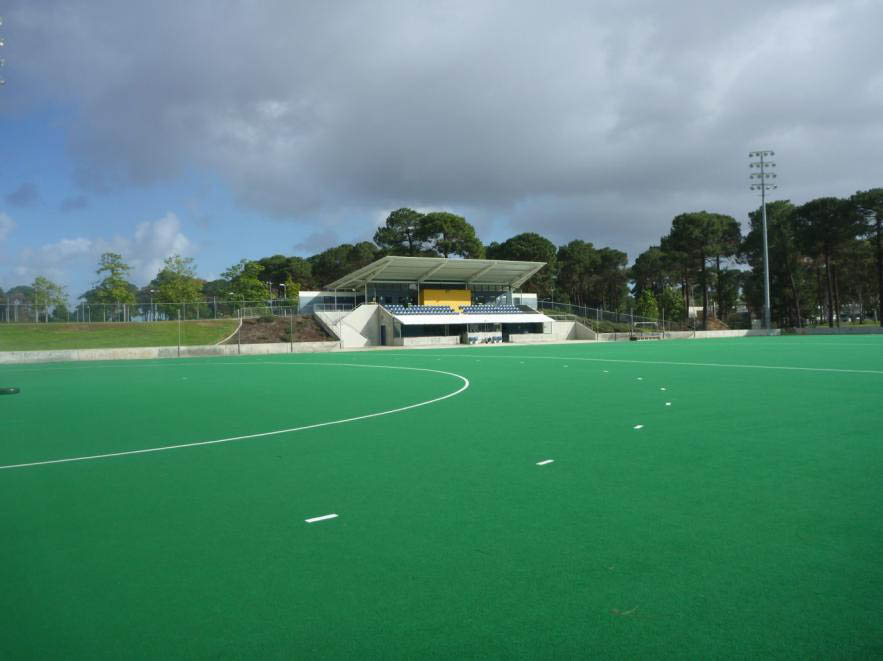 WA Hockey Stadium which has two wet dressed hockey pitches