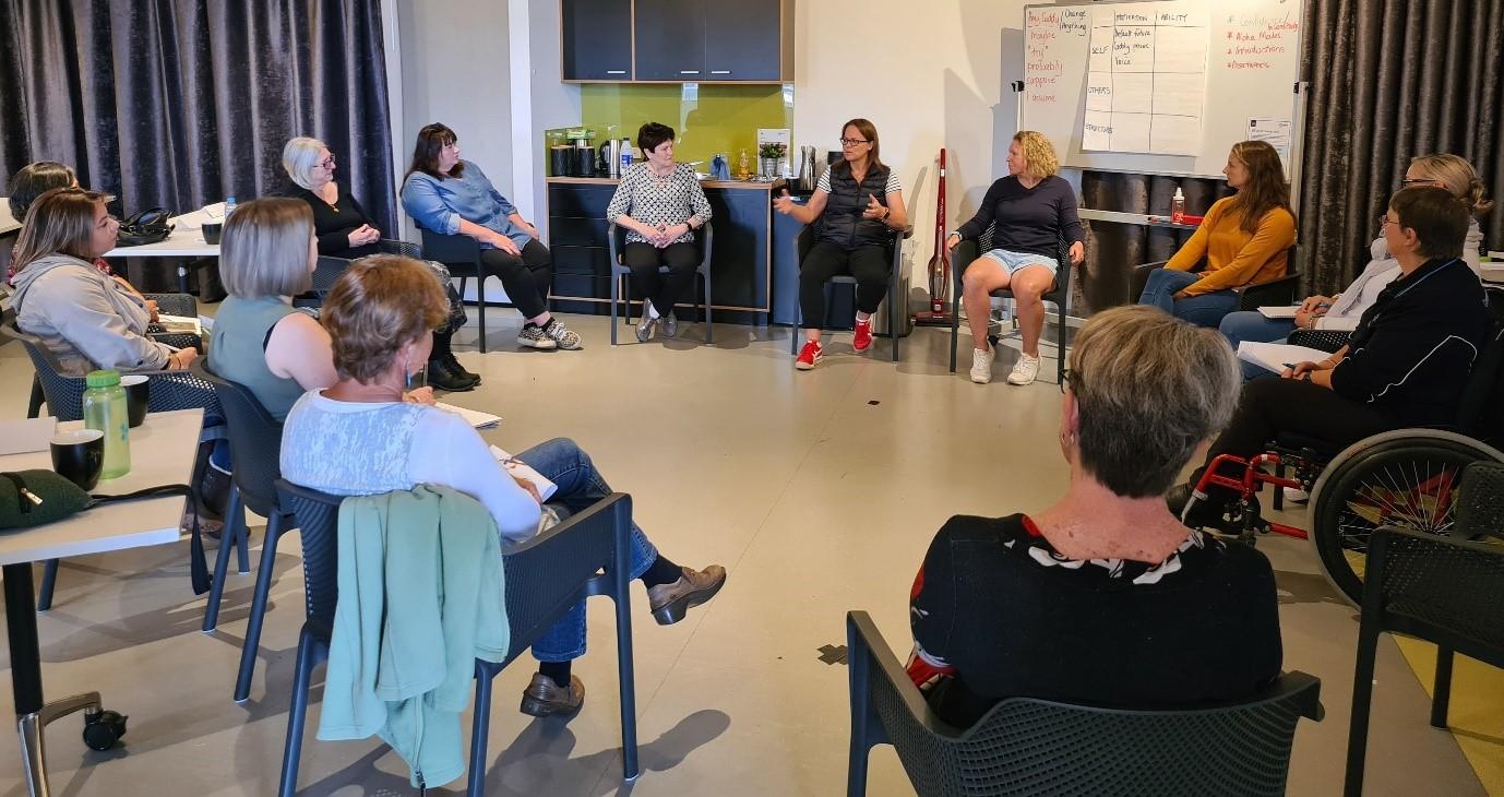 Women in Leadership workshop with Dr Lianne Cretney-Barnes