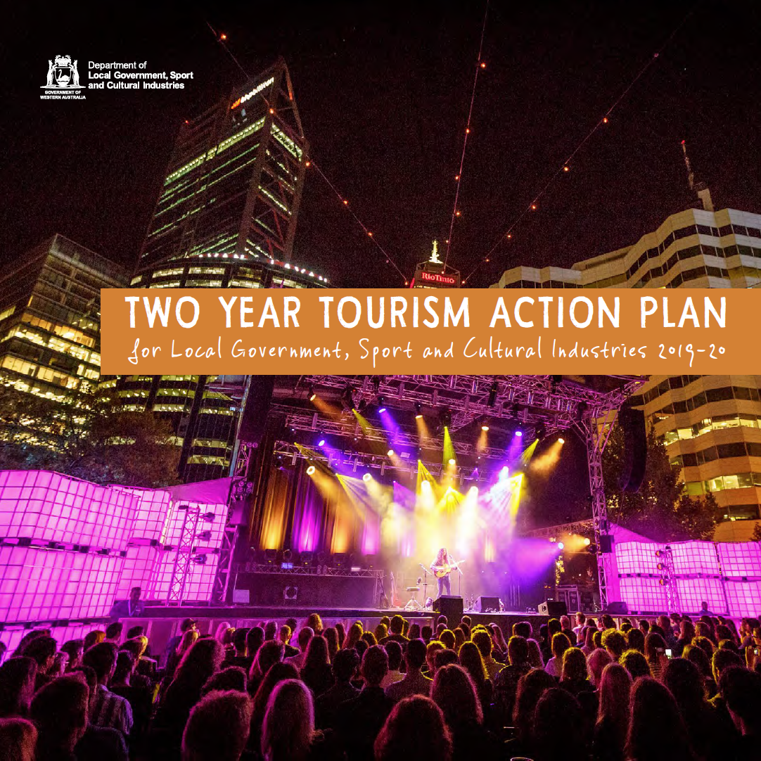 Two Year Action Plan for Local Government, Sport and Cultural Industries 2019-20 cover
