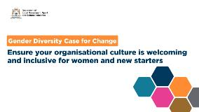 7Ensureyourorganisationalcultureiswelcomingandinclusiveforwomenandnewstarters